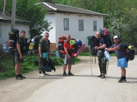 Кримський спортивний похід студентів і випускників навесні 2012 року